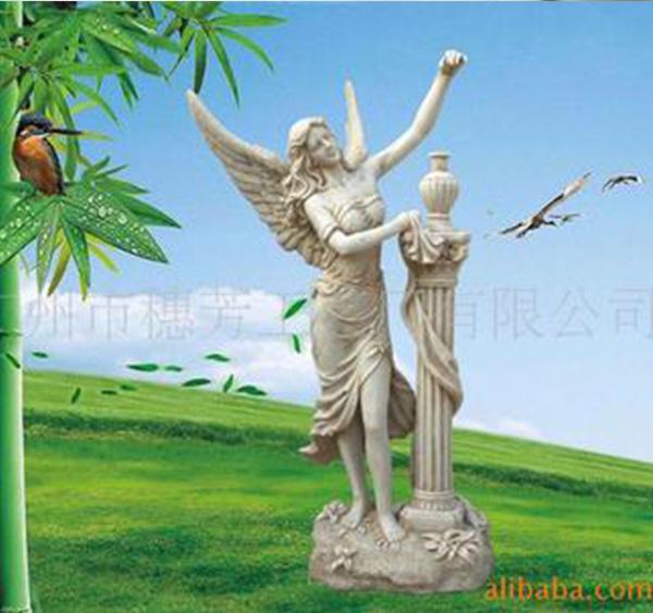 园林景观雕塑  玻璃钢雕塑  神话雕塑