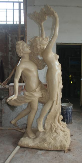 阿波罗人物雕像