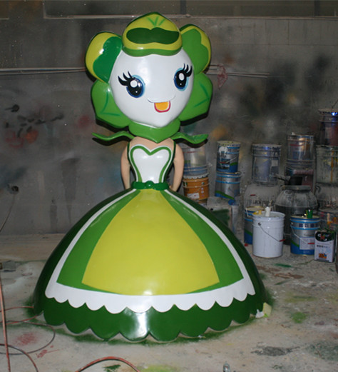 花仙子-公主玻璃钢雕塑
