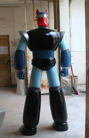 机器人玻璃钢雕塑