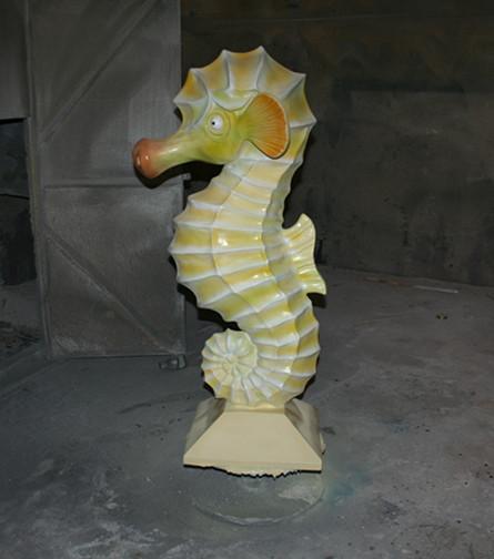仿真动物海马砂岩雕塑