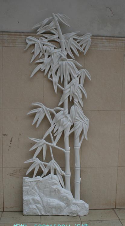 仿真竹子玻璃钢浮雕