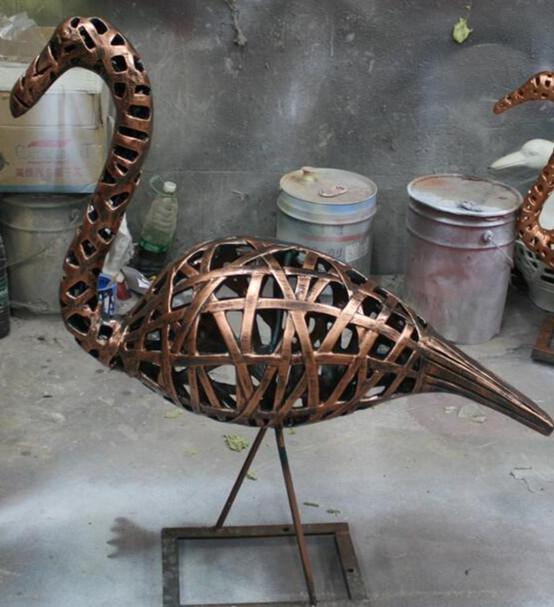 玻璃钢鸵鸟雕塑