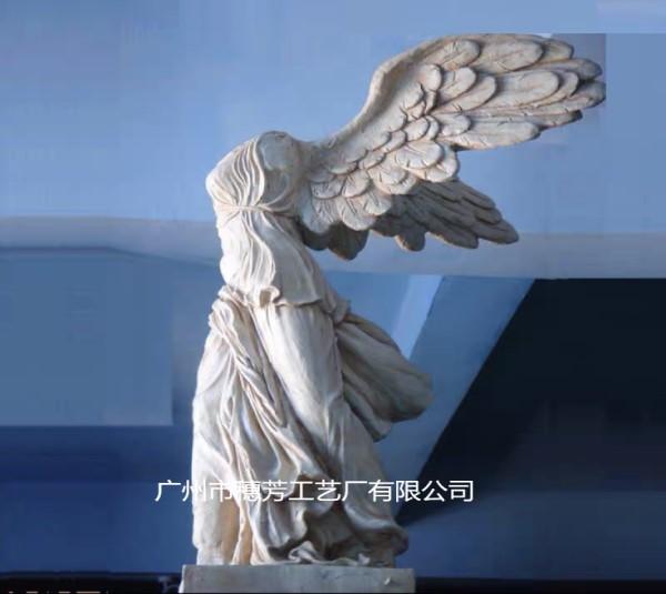 胜利女神欧式人物玻璃钢雕塑名人肖像