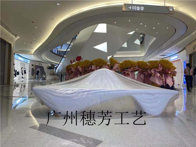 商场摆件雕塑花盆
