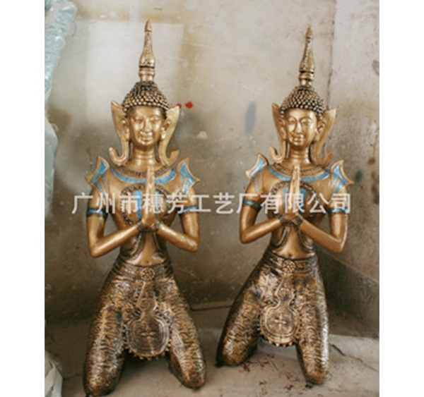 埃及人工艺品 玻璃钢雕塑 埃及僧人雕塑