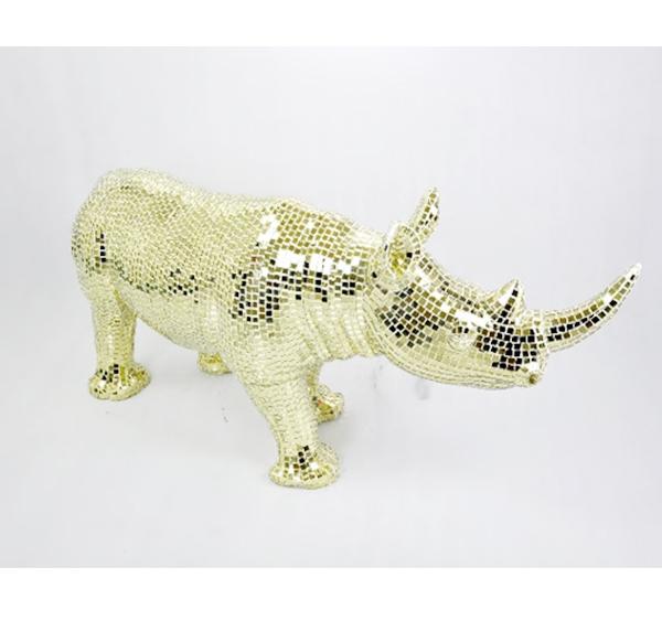 帖马赛克玻璃钢雕塑