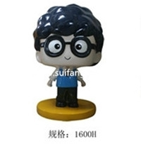 北京卡通人物   玻璃钢雕塑