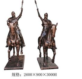 人物雕塑     波斯士兵玻璃钢雕塑