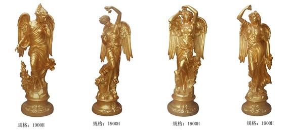 四季女神 古希腊神话人物 玻璃钢雕塑