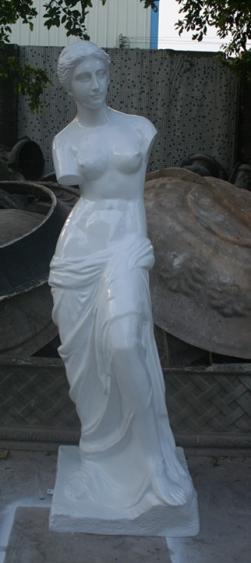 维纳斯人像玻璃钢雕塑