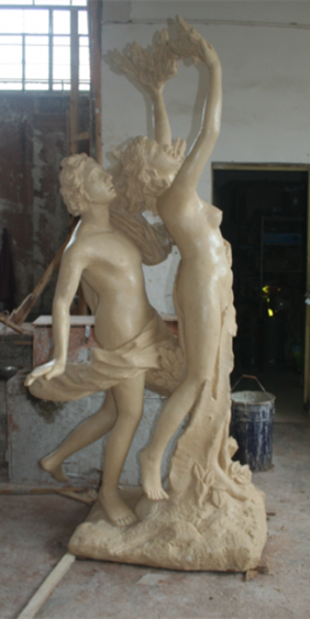 人物雕塑   玻璃钢阿波罗雕塑