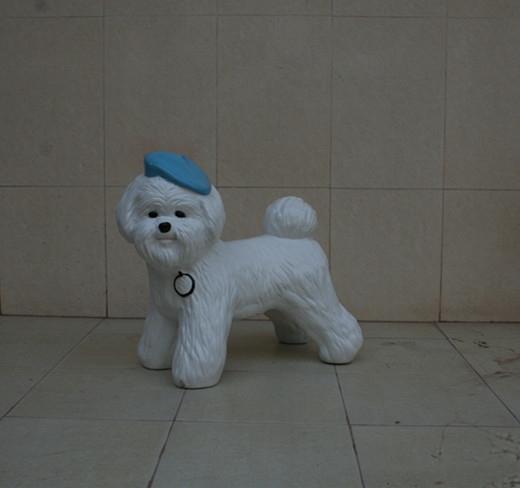 玻璃钢狗雕塑