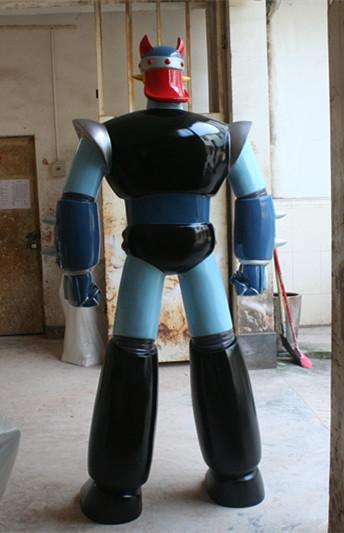 人物雕塑   玻璃钢机器人雕塑