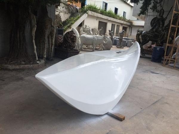 休闲玻璃钢座椅雕塑