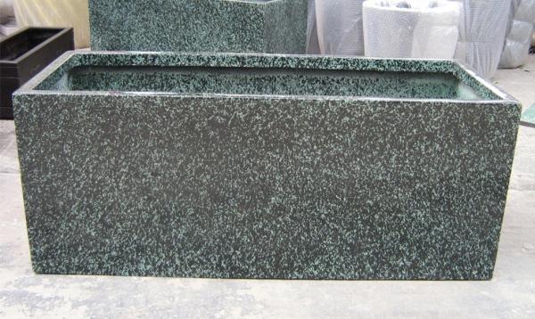暗灰色玻璃钢花槽