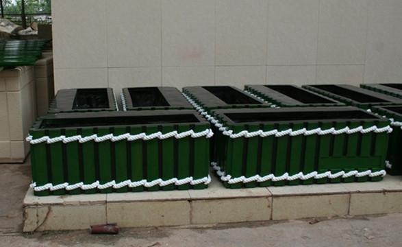 花槽 玻璃钢带绳花槽