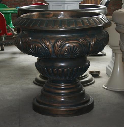 花盆        仿铜玻璃钢花盆
