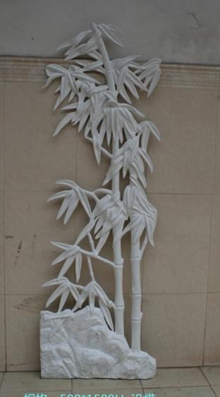 浮雕      竹子玻璃钢雕塑
