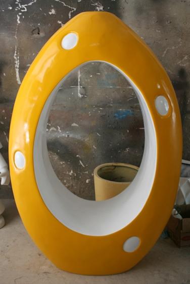 玻璃钢蛋形座椅