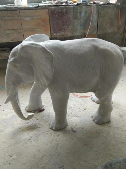 玻璃钢产品大象雕塑