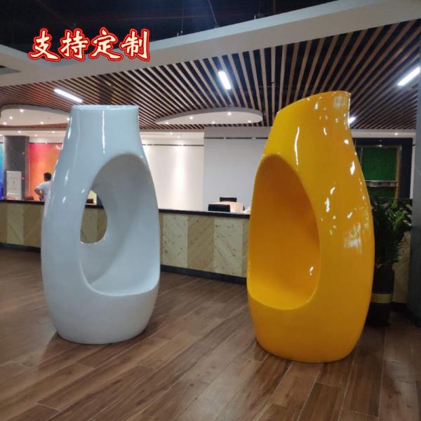 商场创意美陈休闲座椅家具