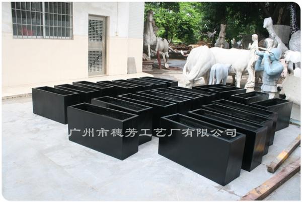 方形种植玻璃钢花箱