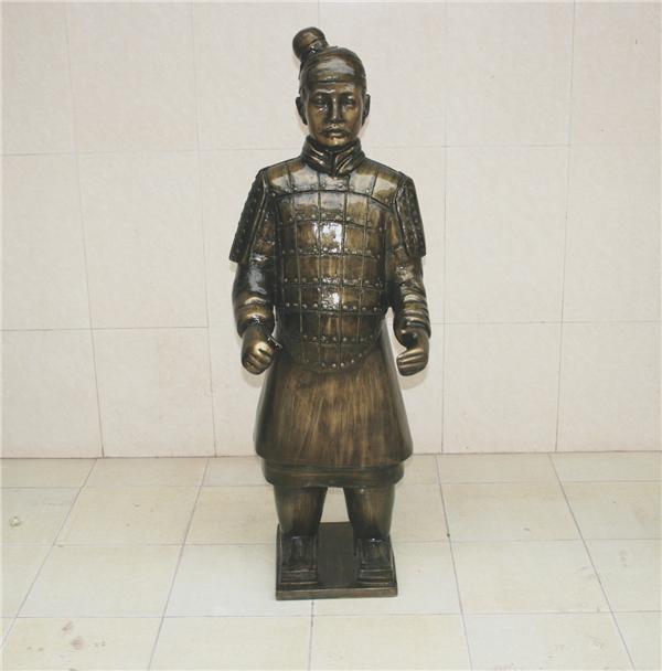 兵马俑人物玻璃钢雕塑