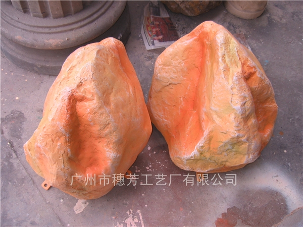 人造仿真假山石头树脂工艺品摆件